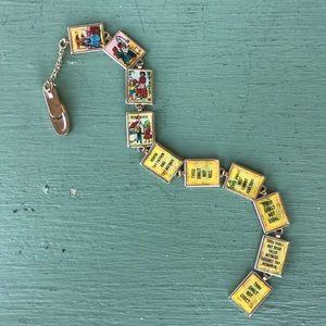 Vintage Jewelry - Holographic Ten Commandments Lapel Attachment